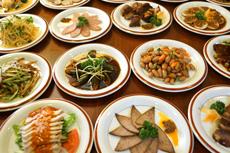 中国現地の味をそのまま楽しめる料理の数々